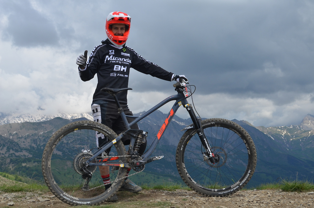 Alexander Cure riding his BH was fast all the weekend to get 3rd overall