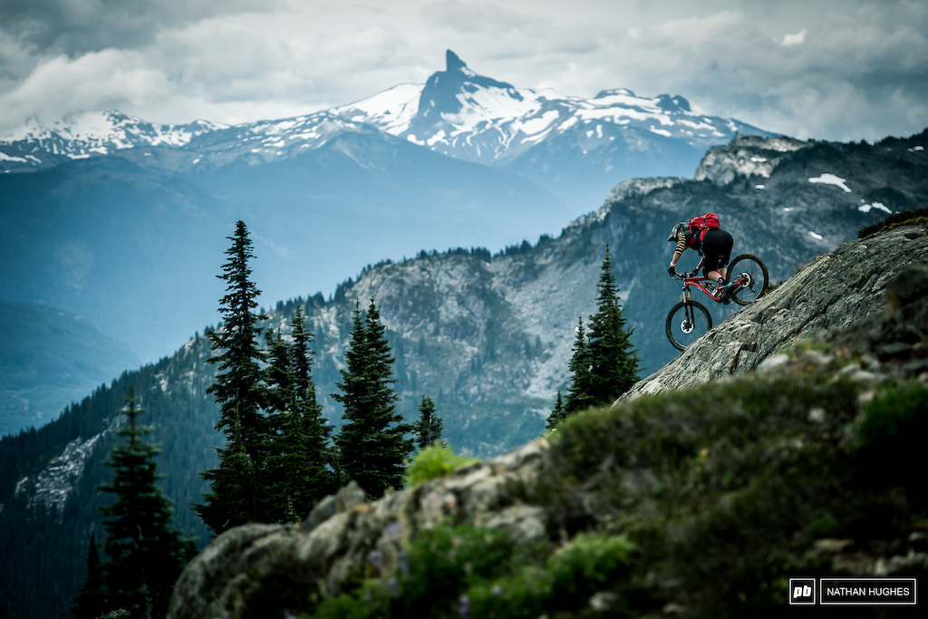Pinkbike Rainbow Heli-drop