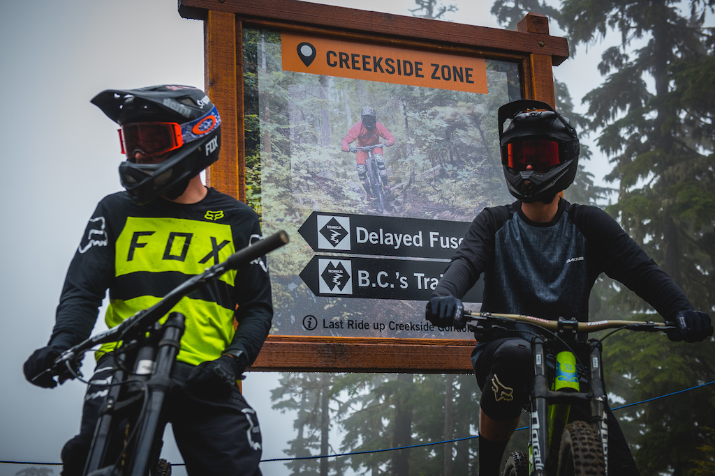 The biggest additon to the Whistler Bike park in quite some time is open for business and business is good.