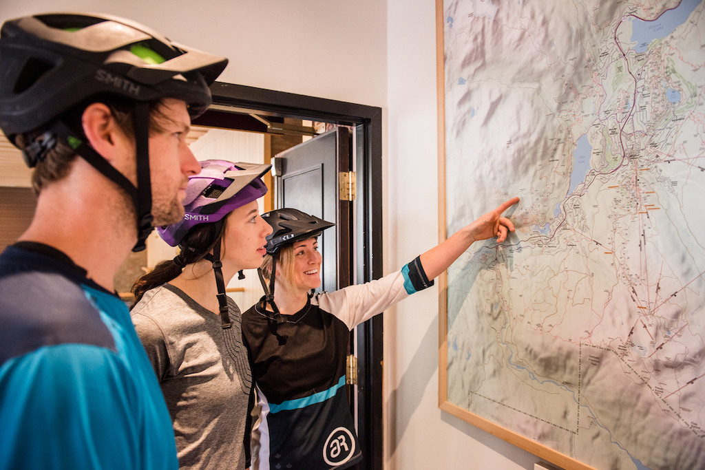 Arbutus Routes guides will brief you on your day of exploration.