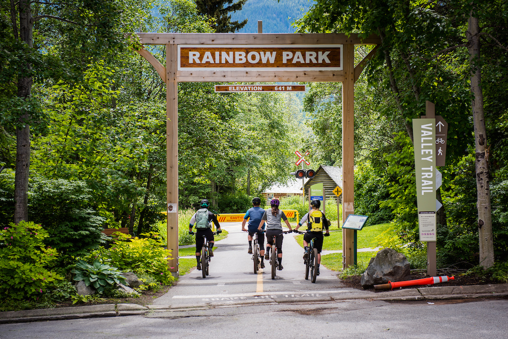 After your ride take in the sights at rainbow park