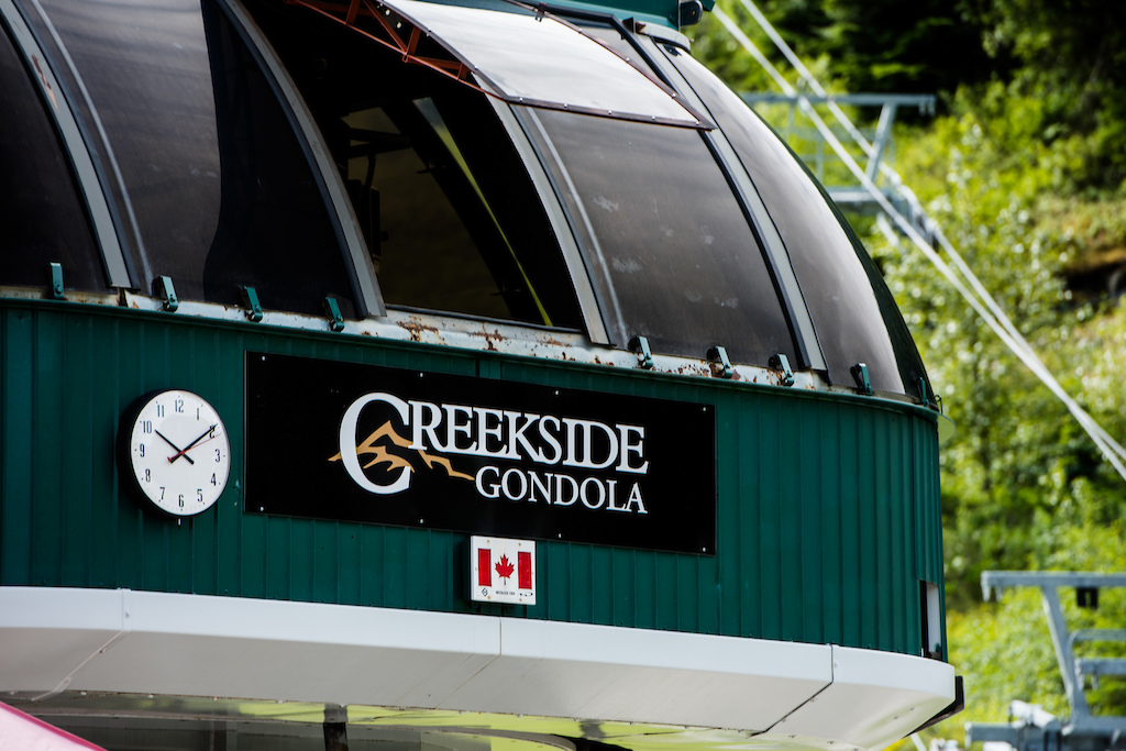 Creekside Gondola open for business 10am to 8pm daily