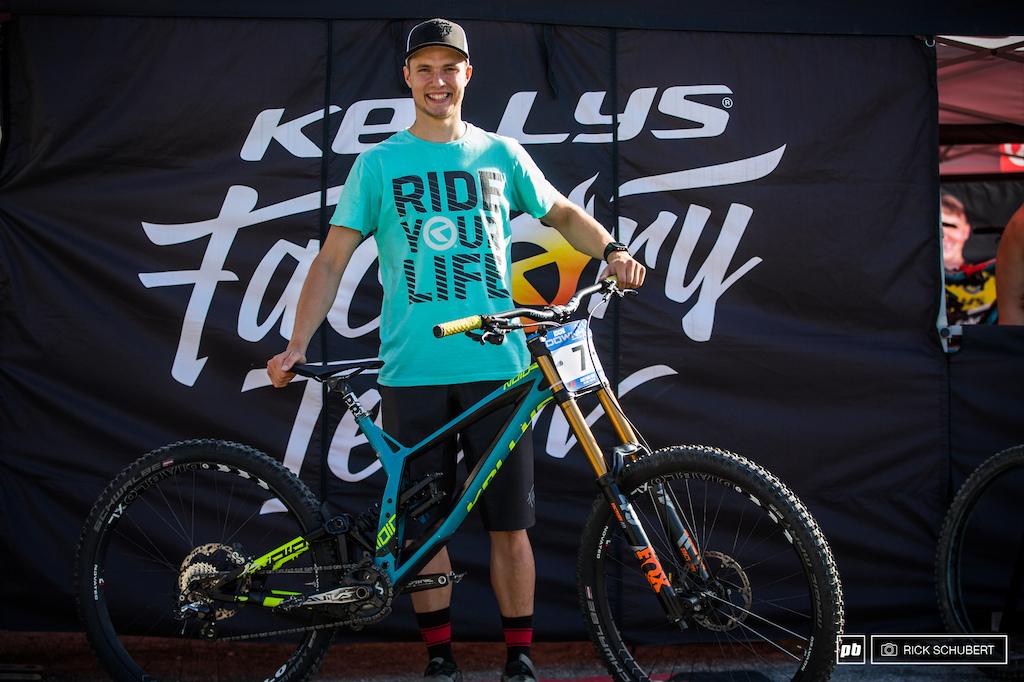 Rastislav and his Kelly Bikes Niod 90 29er