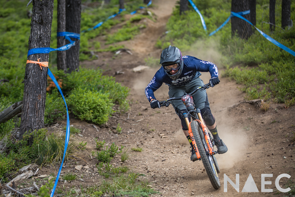 All thriller no filler. Luke Strobel bombing his way down Stage 2. Strobel stands strong going into Day 2 in second place 7 seconds behind Carson Eiswald.