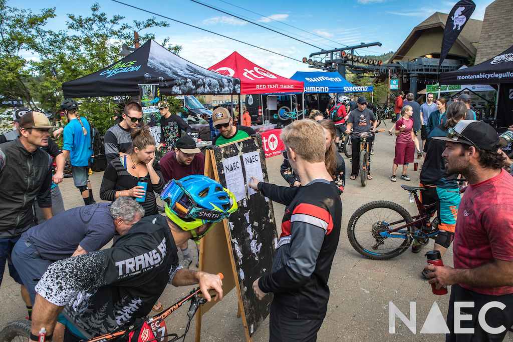 With the racer meeting wrapped the call up schedule was posted and participants eagerly awaited their chance to depart for Stage 1.