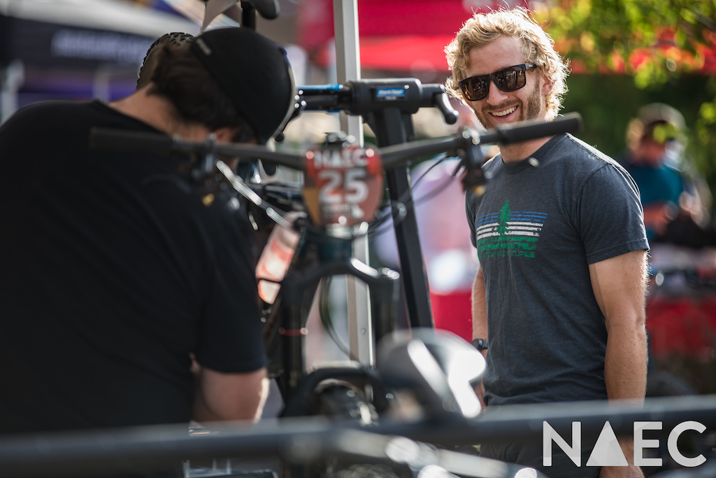 Smiles for miles with the incredible neutral support from the crews at Shimano and FSA.