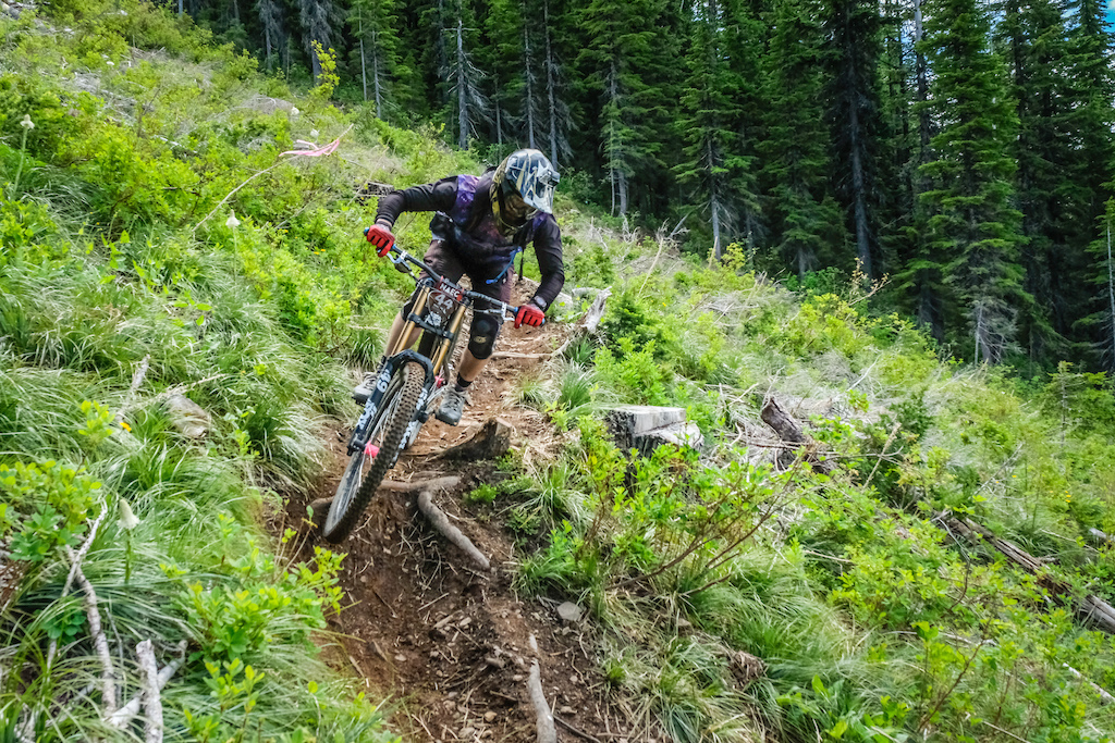 Wood Skinner pedaled his DH bike over 10 000 these past two days. Is there anything more to say