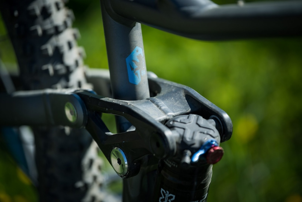 First Look Marin Alpine Trail - Rocker link