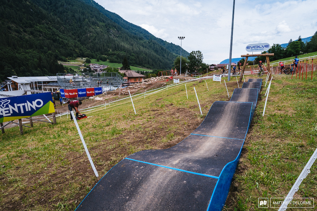 Don't get it but hey, with the improvements made on other parts of the course the kiddie pump track can stay.