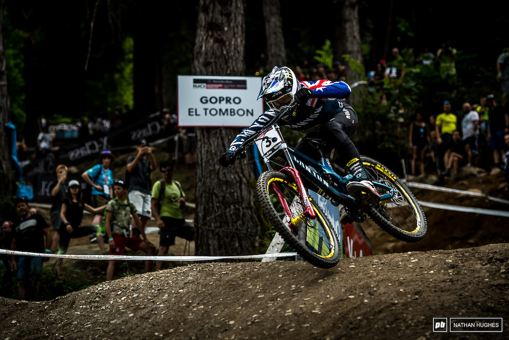 Troy Brosnan won t be delighted with 10th here in VDS but he ll be back to defend his top step in Vallnord.