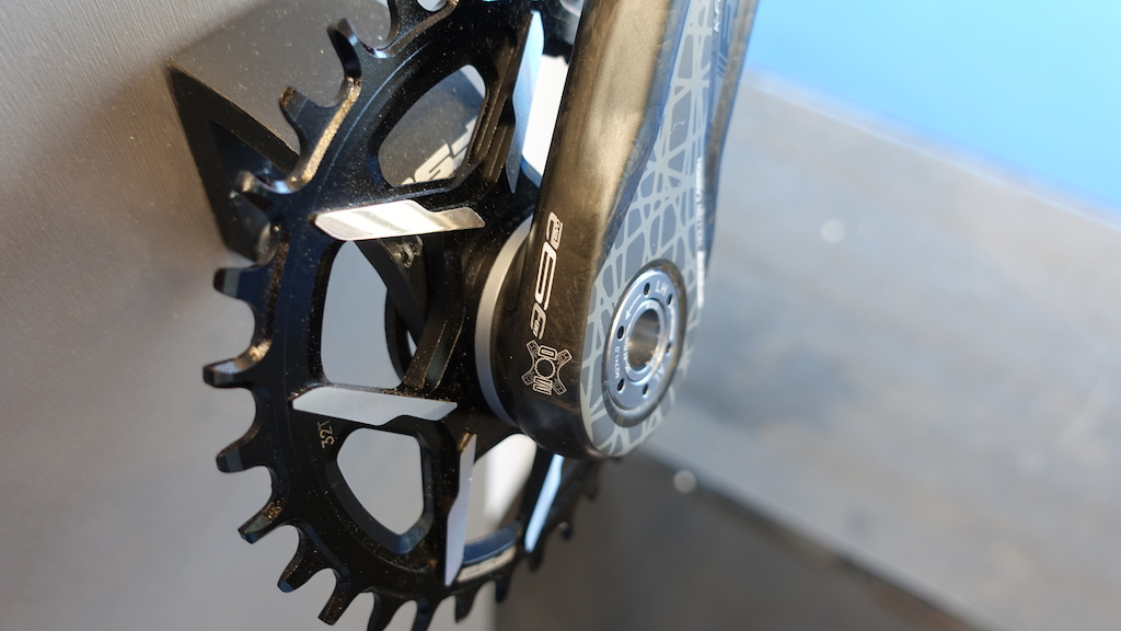 FSA s modular K Force cranks are 1X specific but have a spacer that allows you to adjust the chain line without affecting the Q factor.
