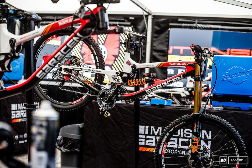 Danny Hart s Saracen Myst got it s first taste of World Cup podium last weekend.