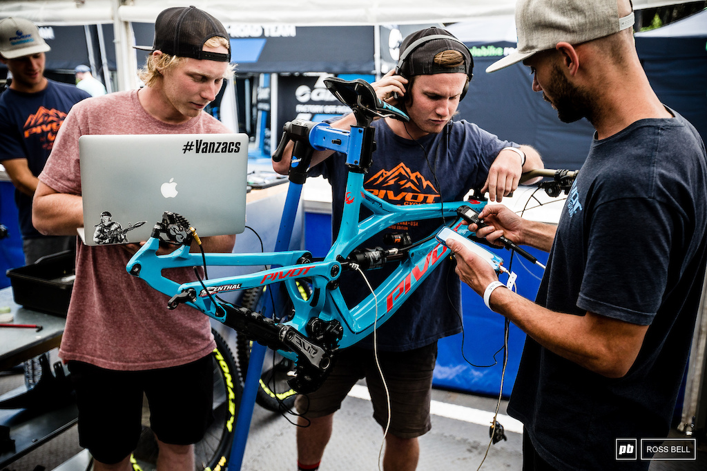 The Pivot boys are wanting in on the data acquisition games and have perhaps the most sophisticated system we have seen to date... Engineered by none other than Eddie Masters himself. More details coming soon.