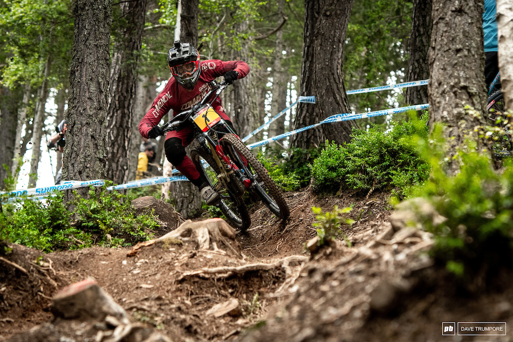 It's no surprise that Amaury Pierron looks fast, smooth and confident on track in Andorra.
