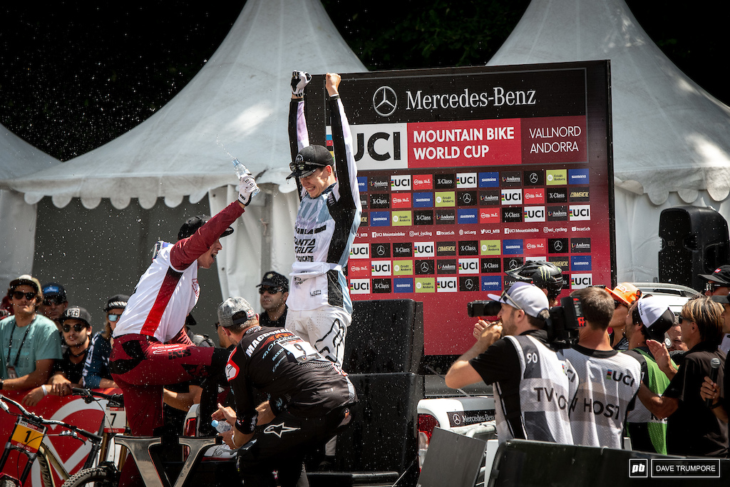 Bastille Day the national day of France and the day Loris Vergier finally stormed the castle to take his first World Cup victory.