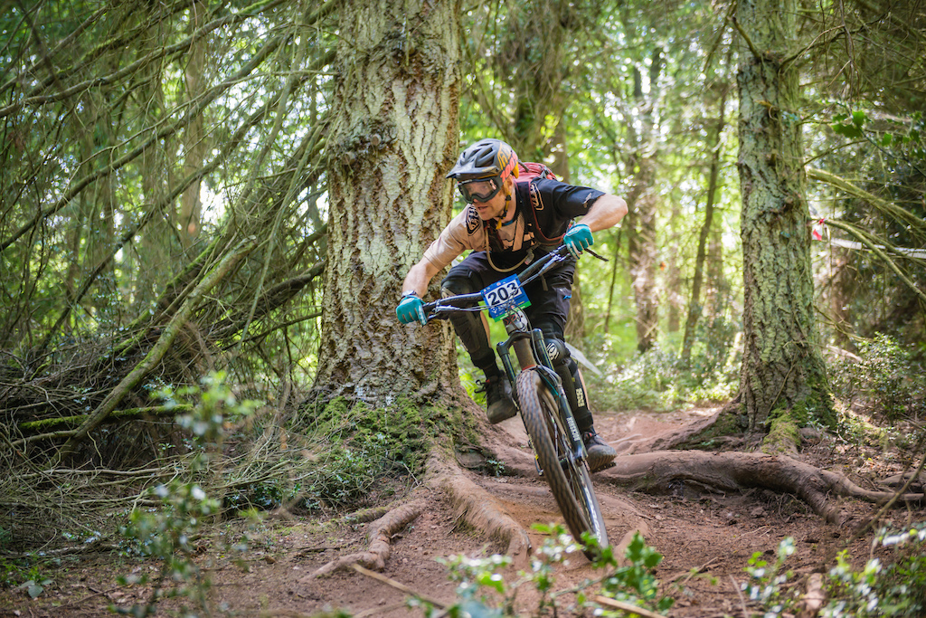 Trying my best at the southern enduro champs