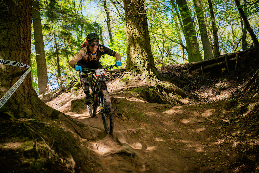 Race shot from the mini enduro at FOD