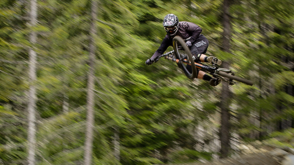Dylan Forbes sending on Dirt Merchant. As seen in Stories from the Dirt // The Legendary Trails of Whistler, BC