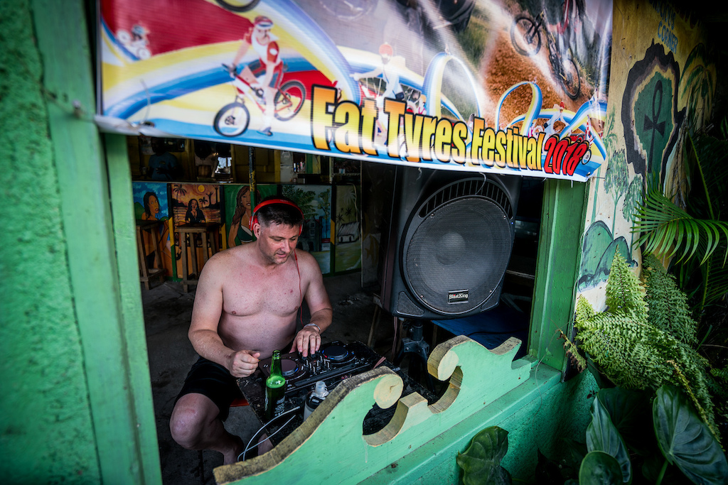 Besides being a 10 year veteran of the festival Jamie is also an accomplished DJ under the name of 26 Inch Reggae and he provided some amazing tunes for the trip.
