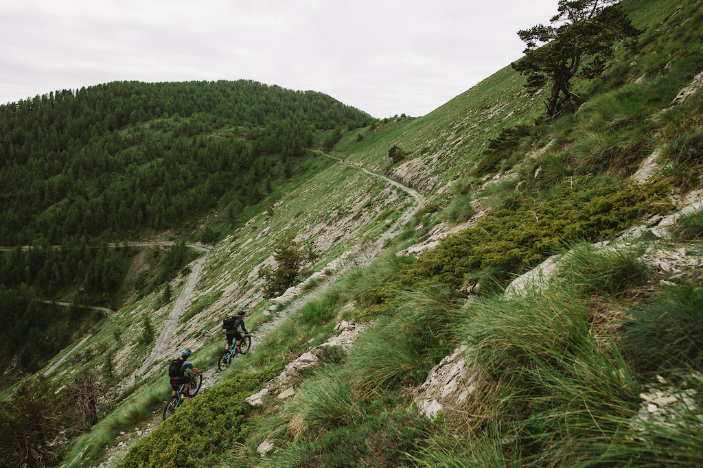 Riding the Maritime Alps