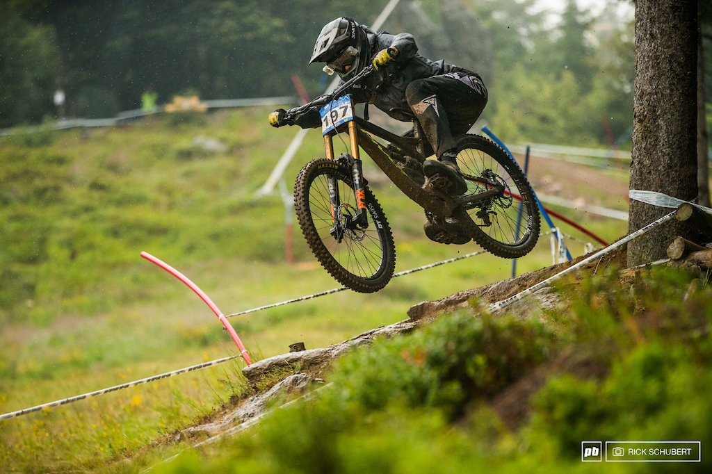 Benjamin Beck could not repeat his win from qualis and ended up in 4th