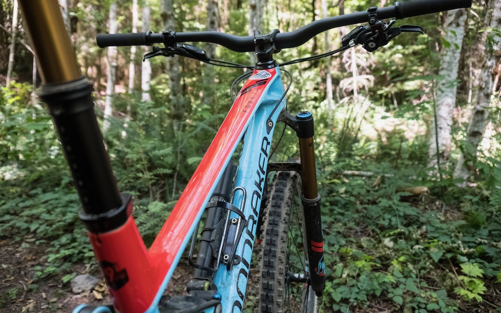 Mondraker Foxy Carbon XR 29 photo by Justin Kious