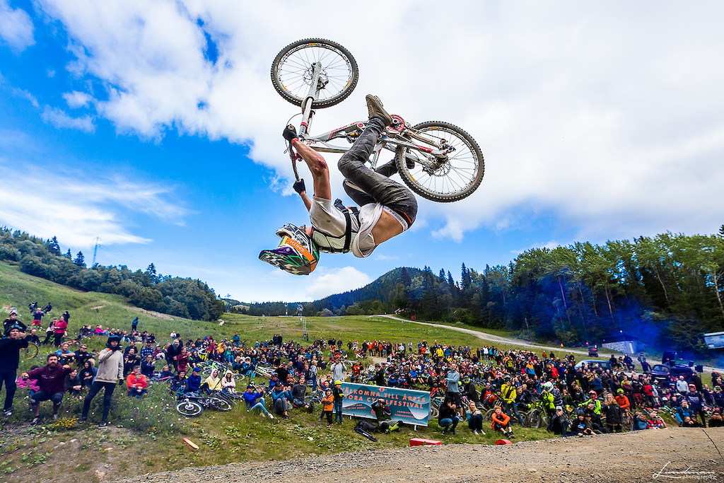 Many have tried to nail a backflip in the legendary Whip it Good competition at Åre Bike Festival, but no one has managed to land it, until now...