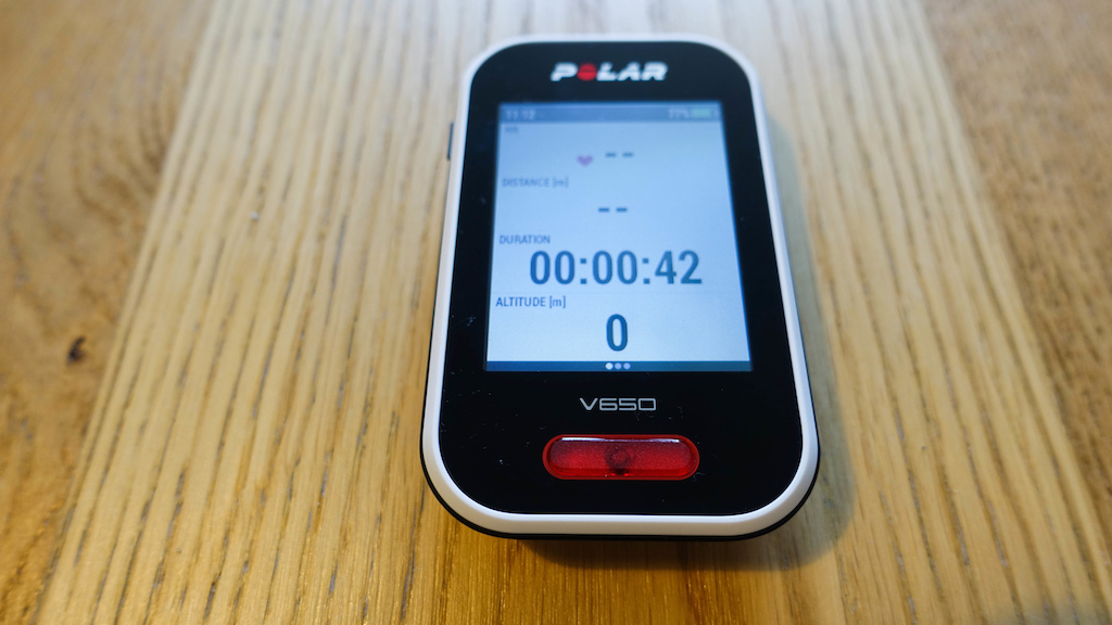 Polar V650 with H10 heart rate monitor