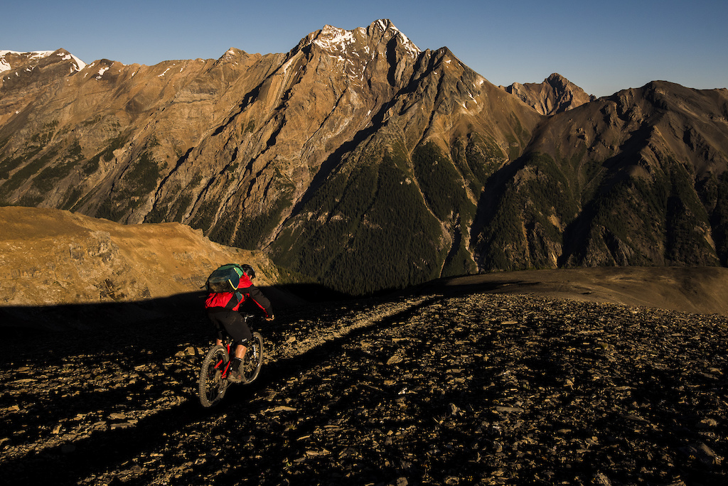 Rider: Mike Hopkins Location: Paradise Mines, Invermere, BC