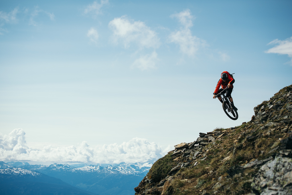 Mike Hopkins in Revelstoke, BC