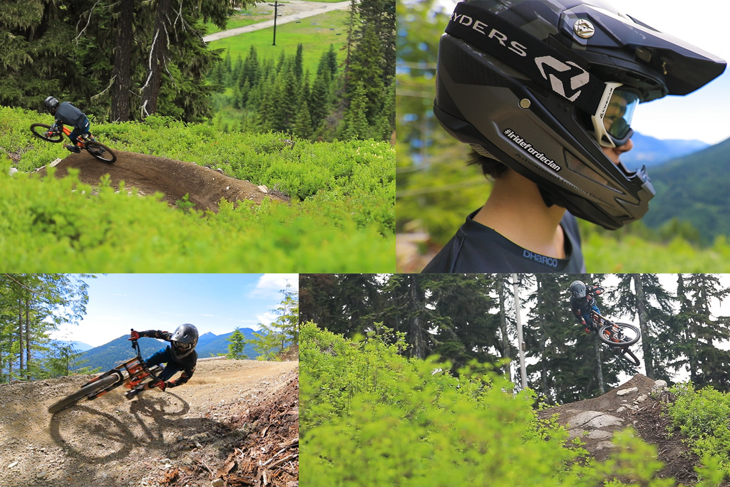 Gideon Bender who was recently named to the US DH National Champs team while filming at Steven s Pass Bike Park in Washington.