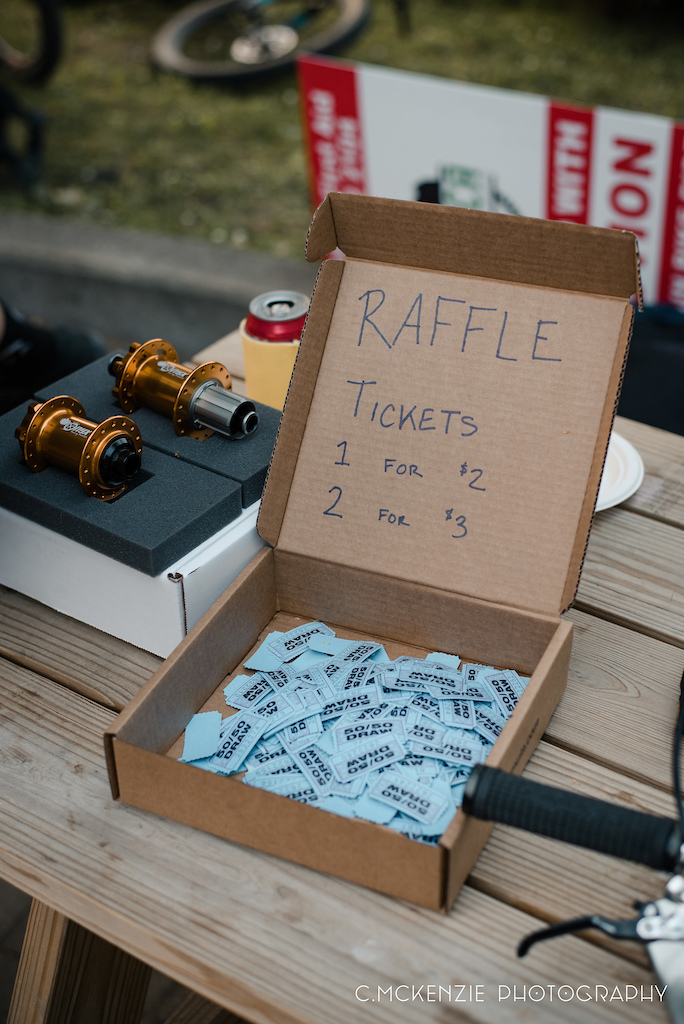 Raise some money for cultured climbs and a chance to win great prizes.