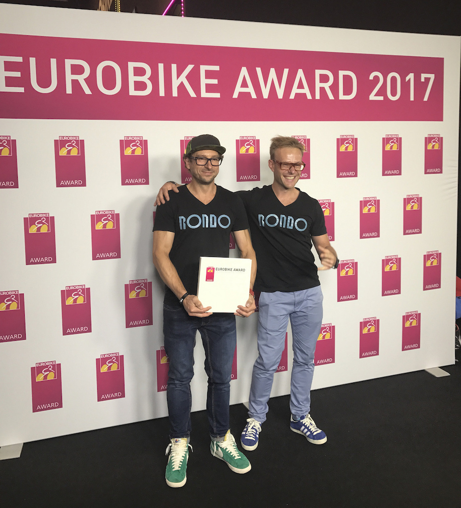 NS Bikes sister company Rondo won a Eurobike Award in 2017 for their gravel bikes.