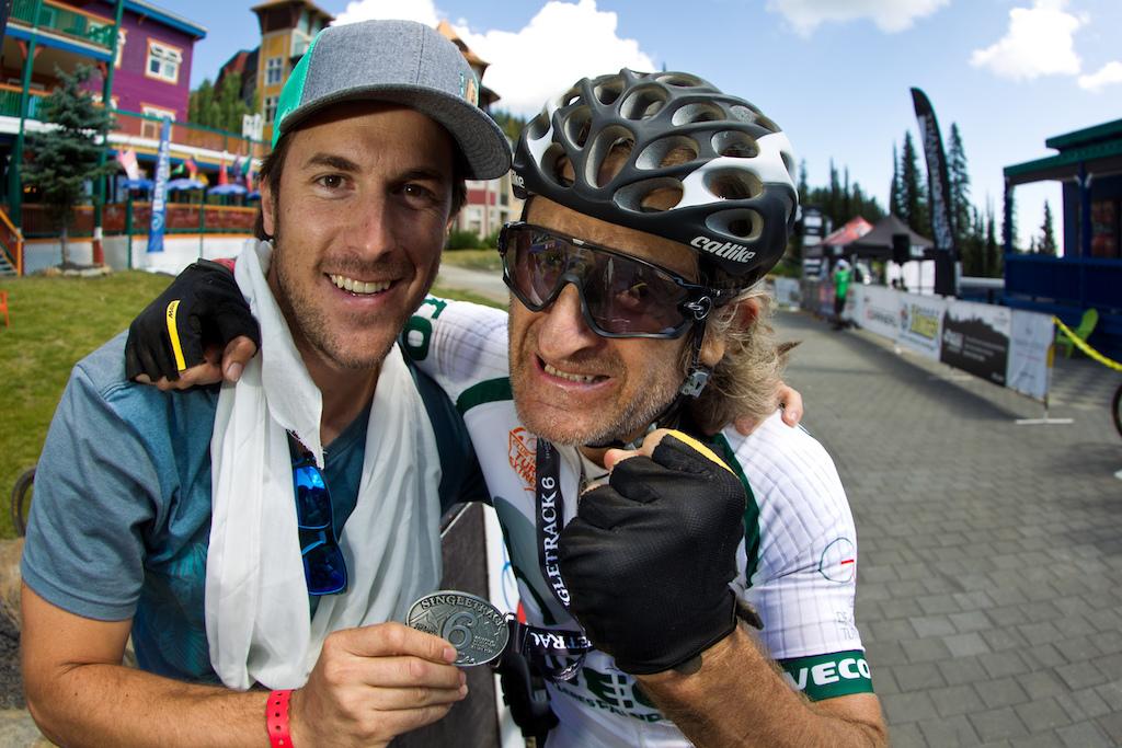 Emiliano Garayar and Pascual Fandos Gomez