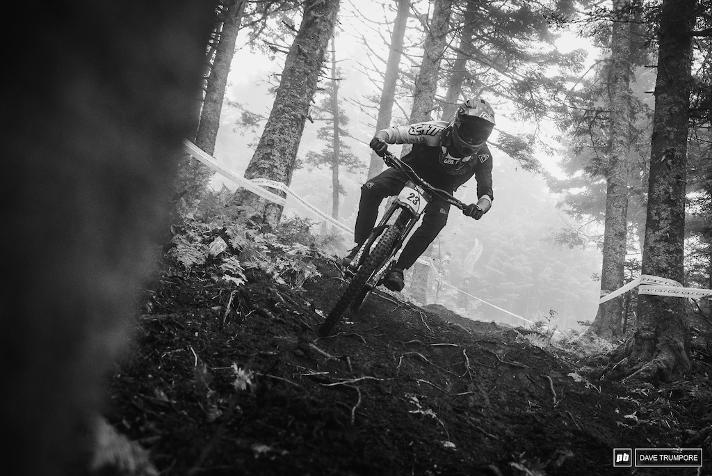 Jackson drew was having fun all week in training and it showed in is riding. A 2nd place will definitely give his some confidence heading into next weekends World Cup just up the road in Quebec.