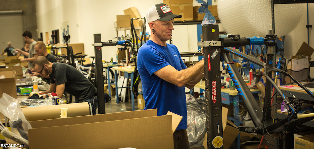 Pivot imports frames and components to its US factory and assembles the bikes there in Tempe. Arizona.