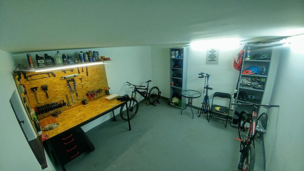 my renovated workshop