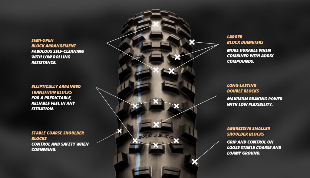 Hans Dampf II tire