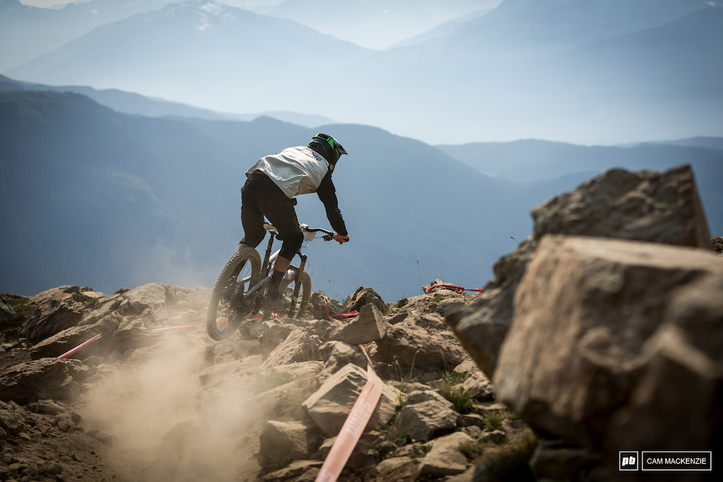 For many Top of the World is the hardest trail of the race. But for Ratboy it s no big thing.
