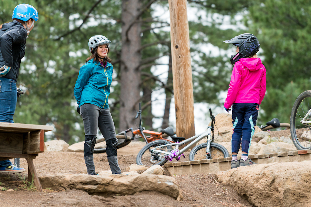 The Truckee Bike Park features all sorts of features fun for all ages.