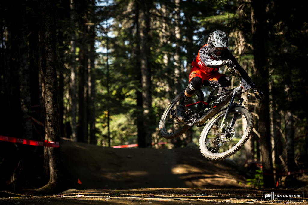 Rémy Métailler is the king of bike park scrubs and left most for dead today.