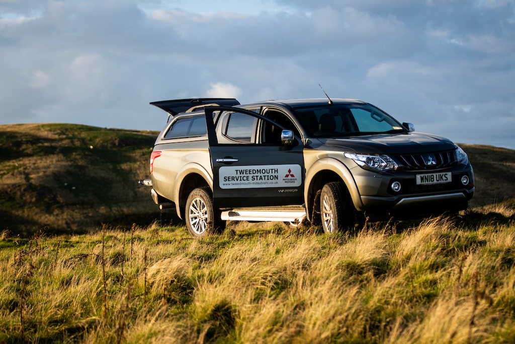 Mitsubishi UK provided the event team vehicles for the weekend - we couldn t have accessed this terrain without them. Top jobs guys