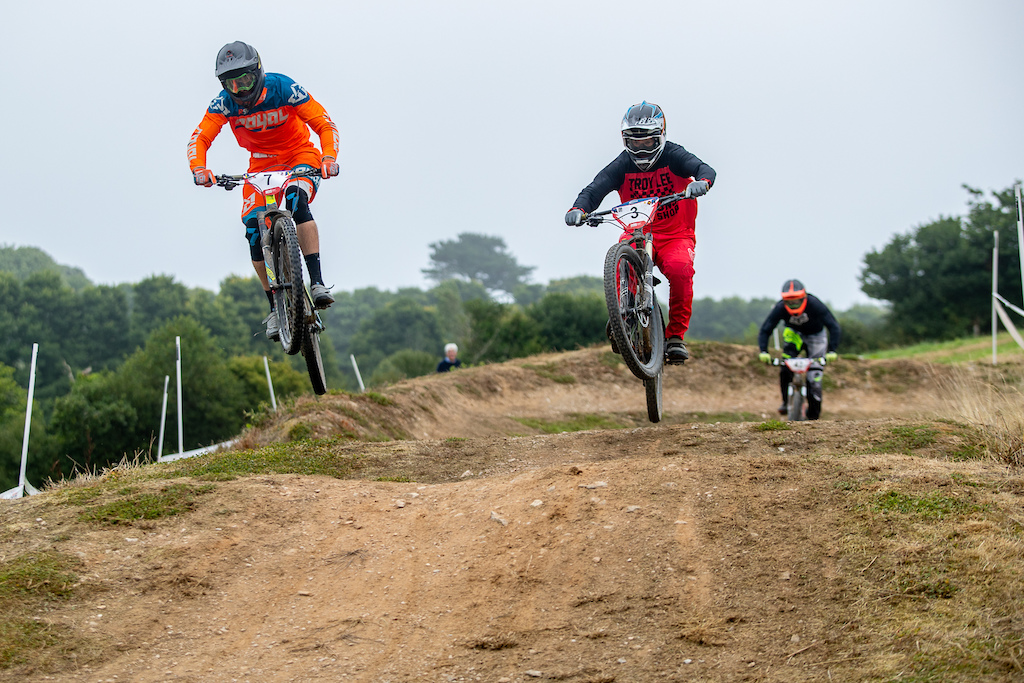 during round 6 of The 2018 Schwalbe British 4X Series at Falmouth Cornwall United Kingdom on August 19 2018. Photo Charles A Robertson
