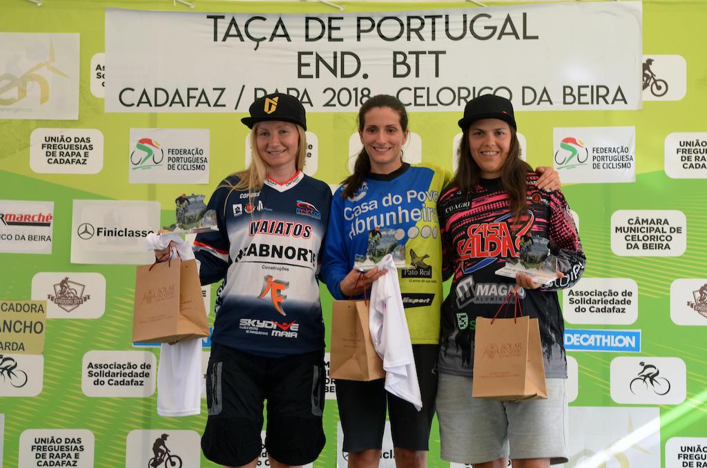 Women elite podium