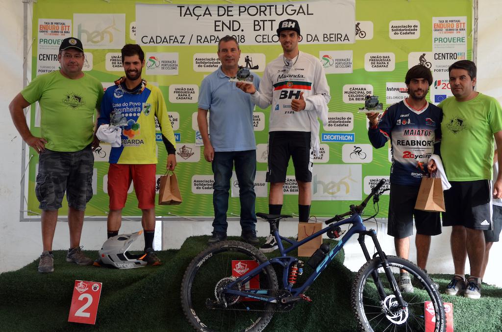 Men elite podium