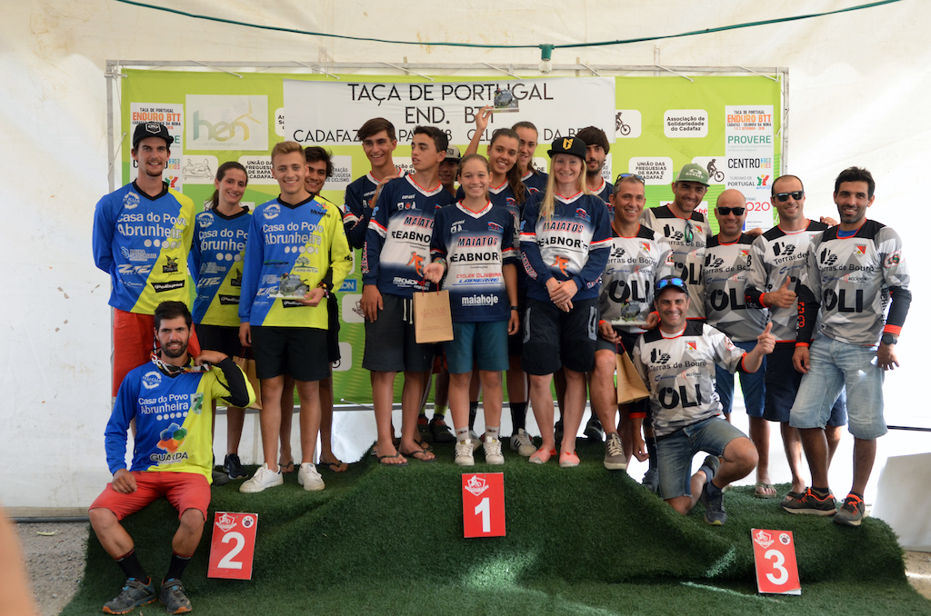 Teams podium is really important in Portugal to be the winner club at the end of the season as that means the club can opt for some help from local government for their riders
