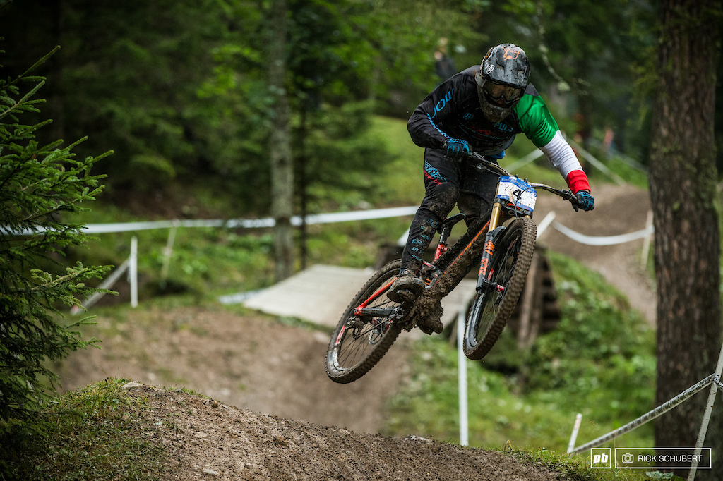 Johannes von Klebelsberg was on fire in Brandnertal. He won the seeding run and just pushed repeat on sunday taking the final win of this years series