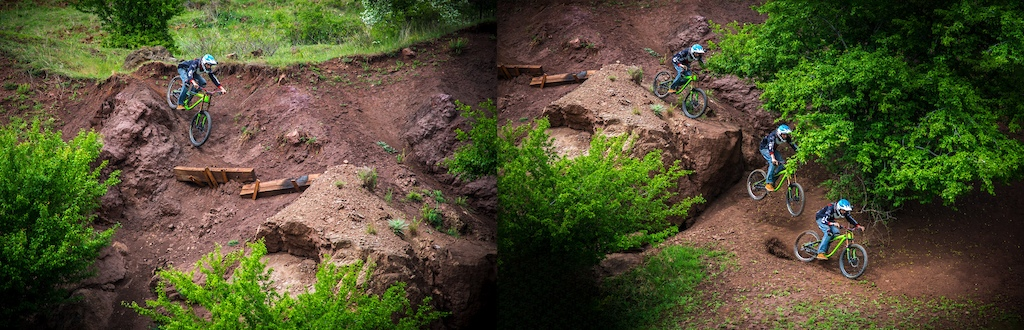 Stage 4 - The Stone drop. Technical fun