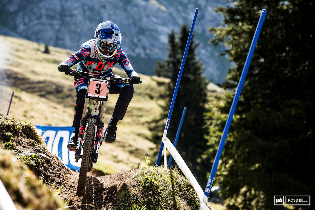 Tahnee Seagrave will be fired up after being pipped to the World Cup overall.