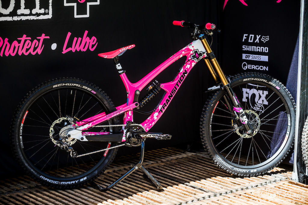 The custom colour ways aren t just for the racers in Lenzerheide this weekend.